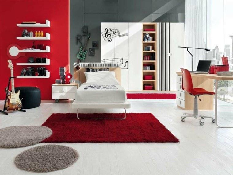 foto decoración rojo blanco