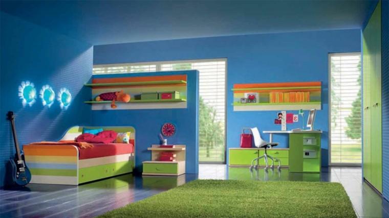 Dormitorios juveniles con lo ltimo en tendencias - Alfombras de diseno moderno ...