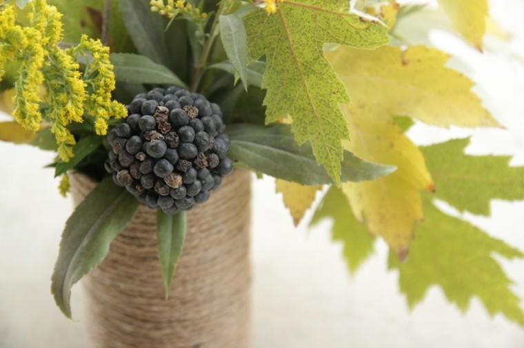 frutas decoracion cuerda maria