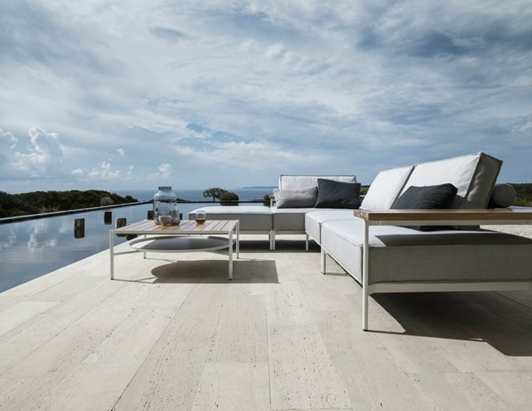 gloster tray sofas estilo moderno
