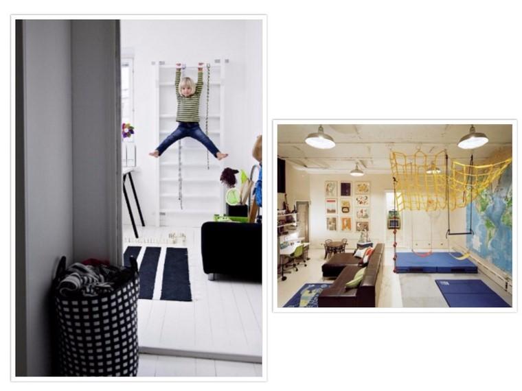 Guarderia con creatividad   habitaciones divertidas.