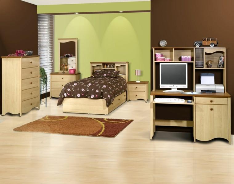 habitaciones modernas dormitorio solterona