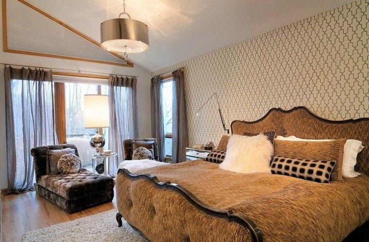 habitaciones modernas tias solteronas sillon