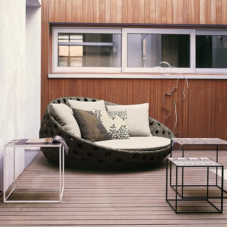 hora estar fuera ideas muebles exterior original