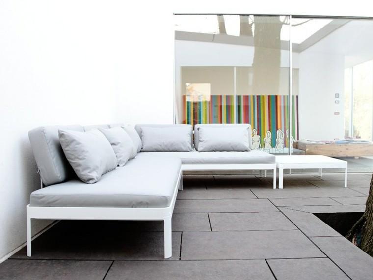 icarraro sofa esquina blanco moderno