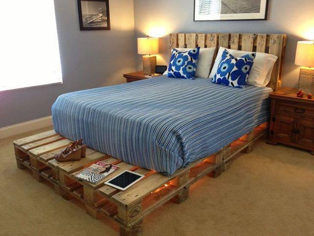 ideas cama habitacion decoracion muebles decoracion