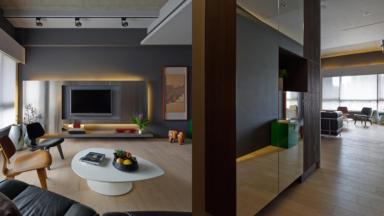 ideas color neutral hogar asiatico diseño