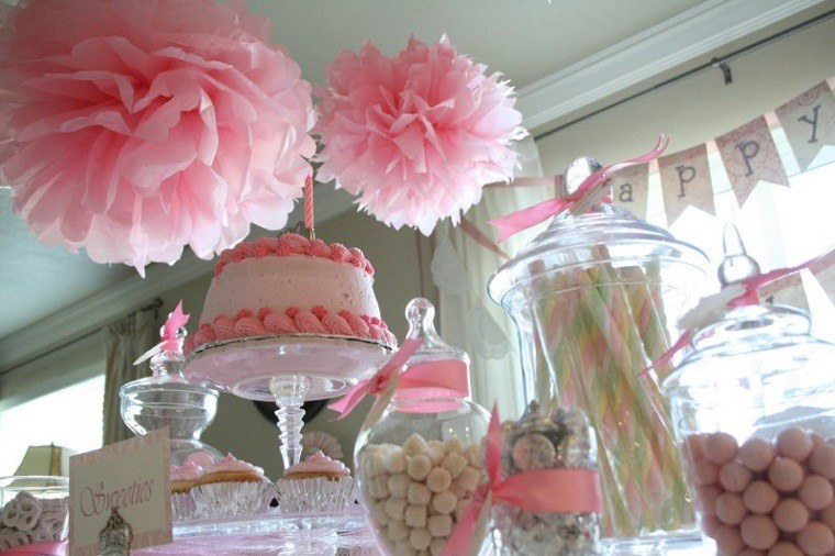 ideas decoracion fieta chica rosa cumpleanos botes