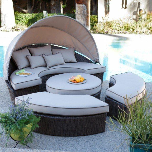 ideas increibles relajar jardin cojines modernas