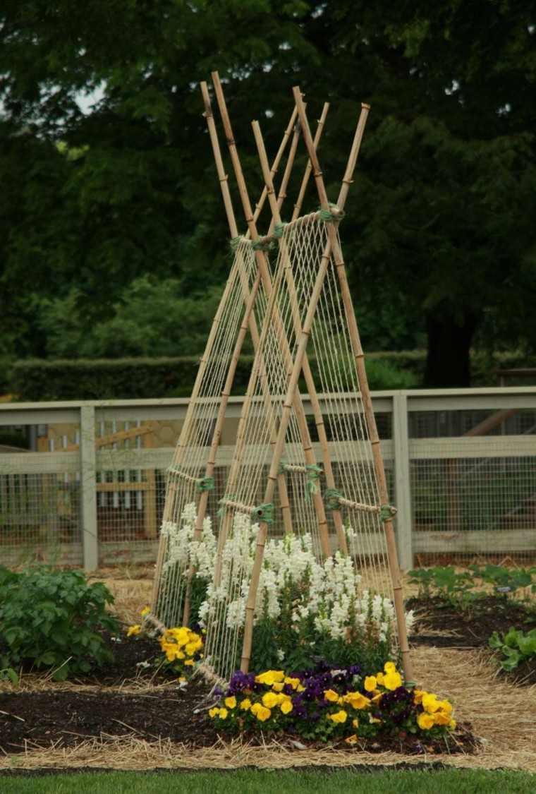 ideas interesantes lugar jardin flores casa