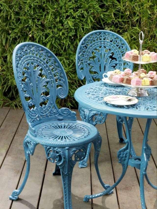 ideas muebles antuguos azul bonitos romantico