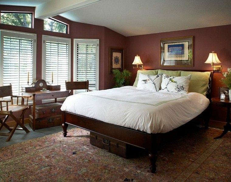 ideas originales dormitorio moderno madera cama muebles diseño