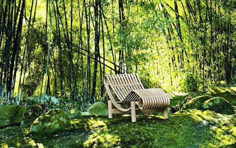 ideas originales madera sillas exterior bonita