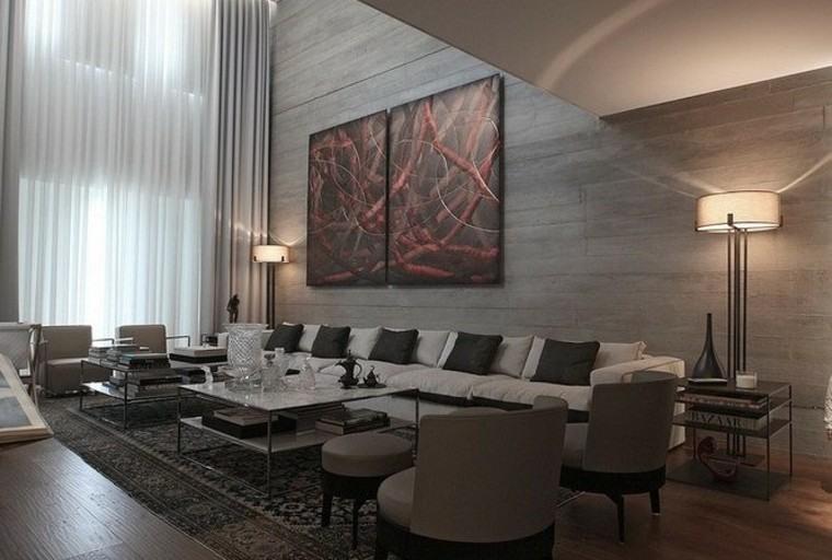Ideas para decorar salones ltimas tendencias - Cuadros para decorar salones ...