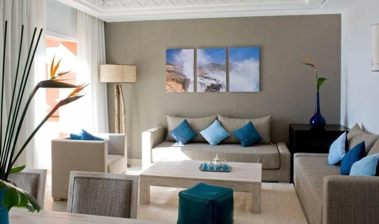 Ideas para decorar salones ltimas tendencias - Ultimas tendencias en decoracion de paredes ...