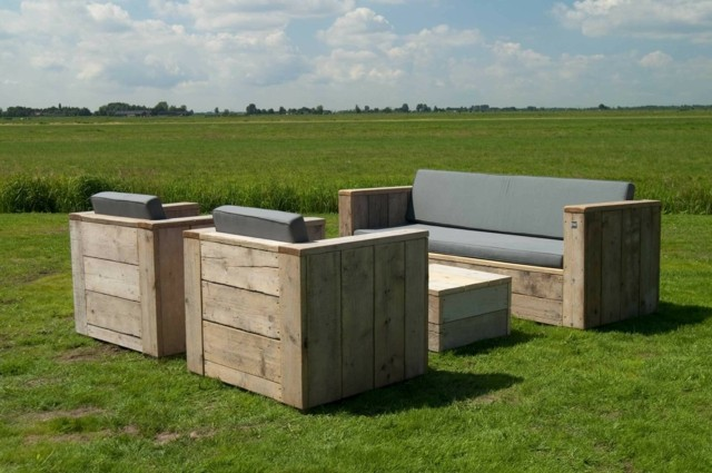 ideas para jardin muebles teca interesante moderna
