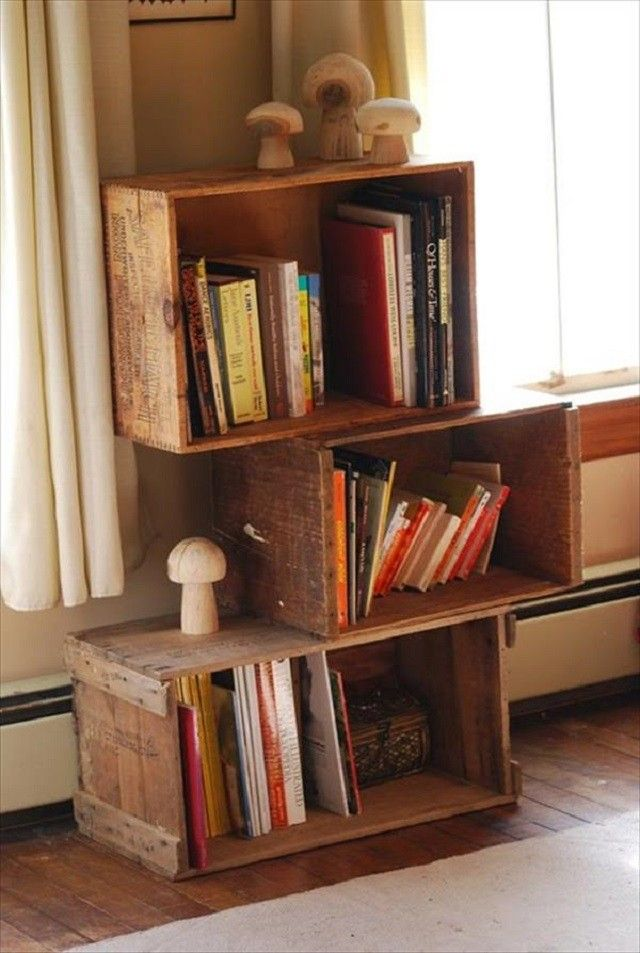 Ideas para muebles diy justos a tu medida - Madera para estantes ...