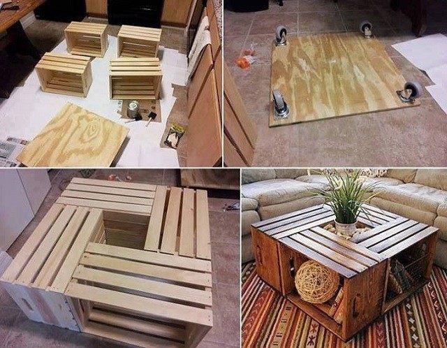 Ideas para muebles DIY, justos a tu medida.