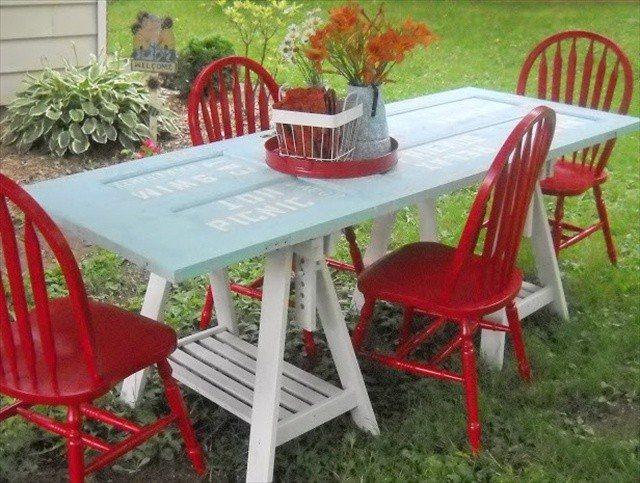 Ideas para muebles diy justos a tu medida for Muebles comedor exterior