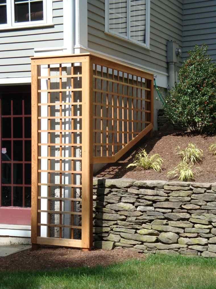 Estilo en el jard n con enrejados para plantas trepadoras for Reja para jardin vertical
