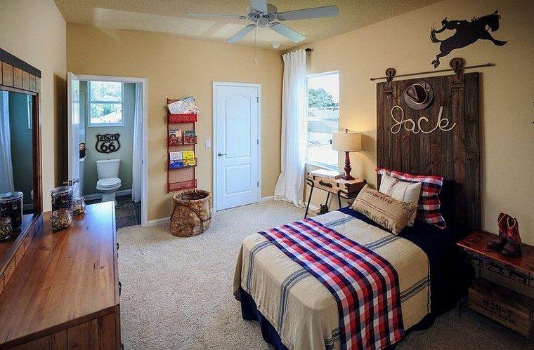 ideas unicas cabeceras cama dormitorio chico moderno