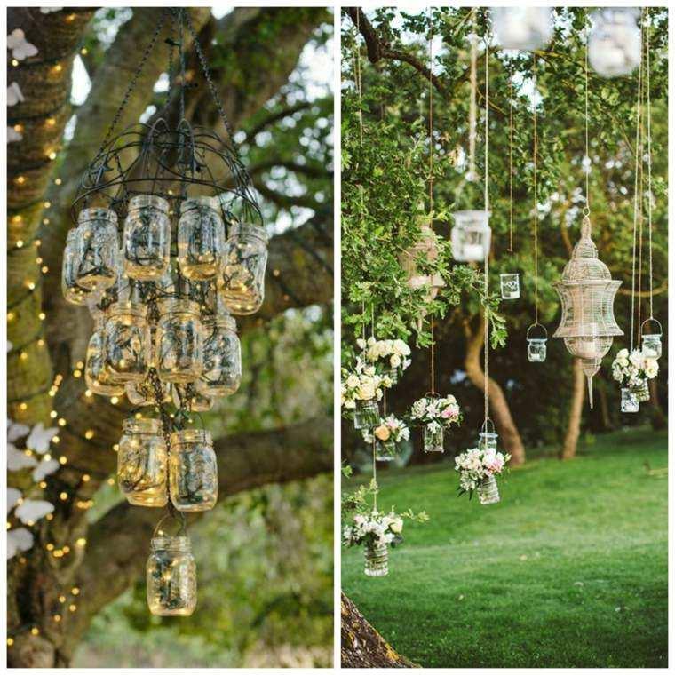 iluminacion jardines linternas luces diy