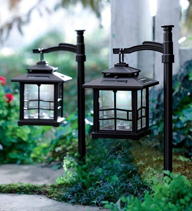 Iluminacion jardines y linternas para noches de fantas a for Iluminacion solar para jardin