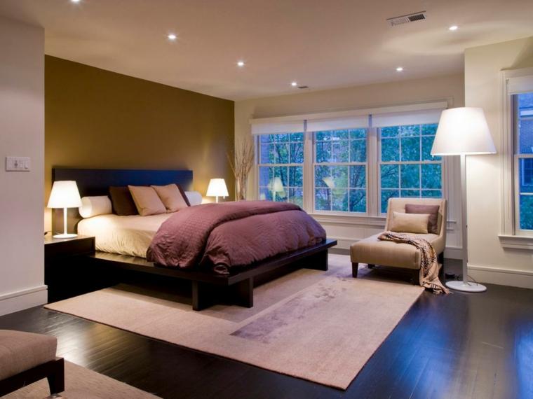 iluminacin led cuarto relax lamparas cama