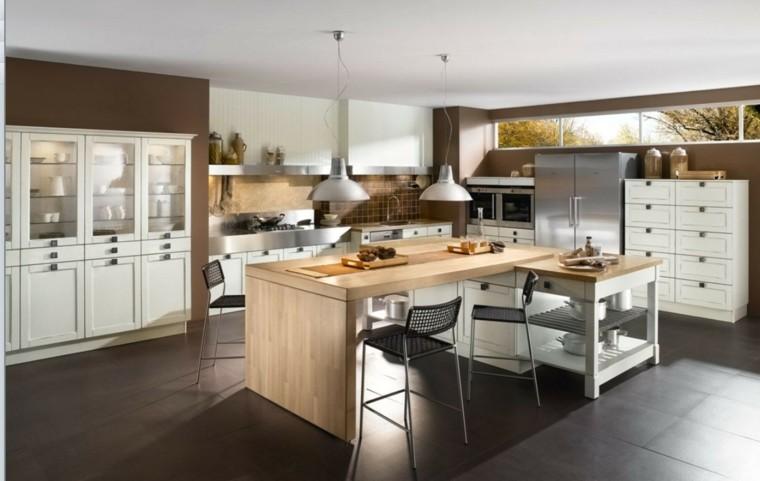 industrial cocina moderna diseño naturales
