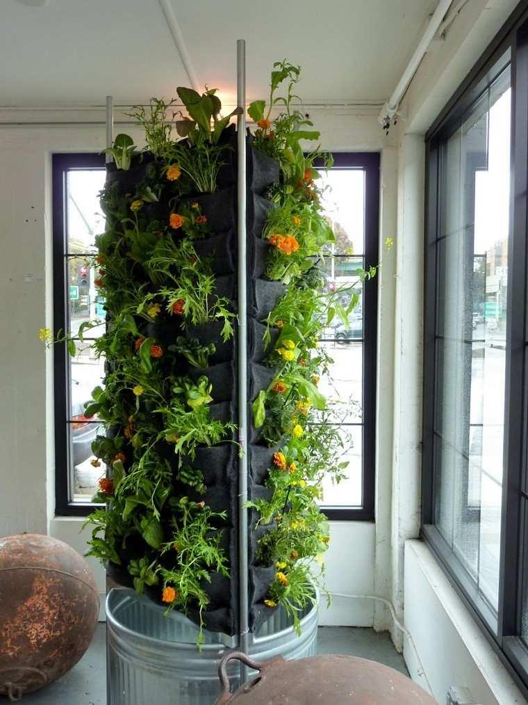 Jard n vertical naturalidad en cualquier lugar for Fotos de jardines caseros