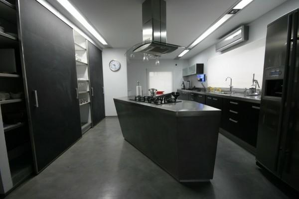 cocinas con isla minimalista