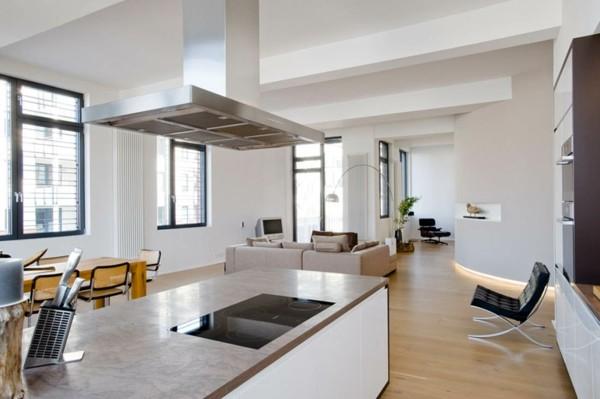 isla moderna cocina amplia