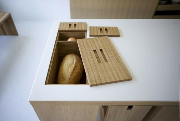 isla cocina panadera panes
