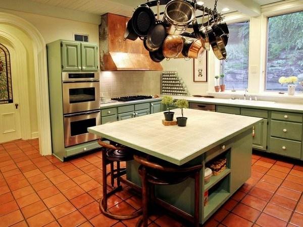 isla verde jade cocina retro