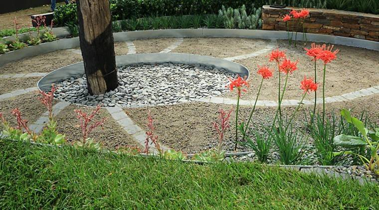 jardin arbol centro valla barrera