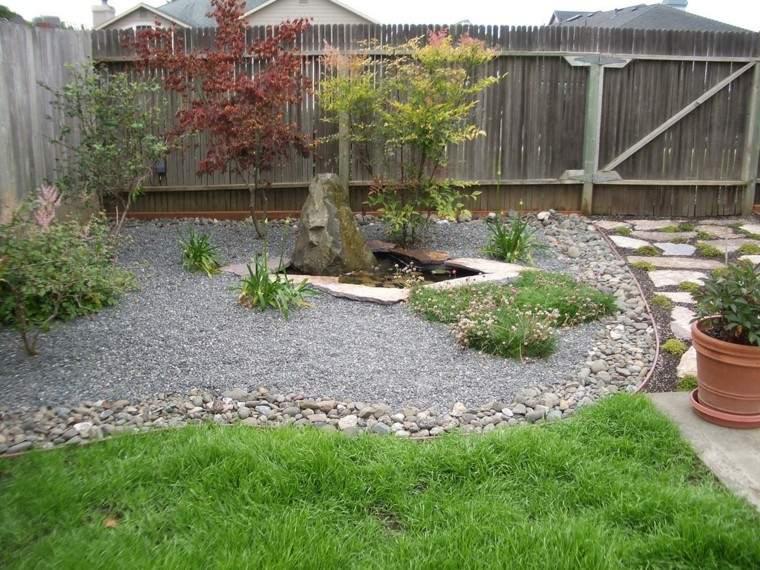 jardin diseño estilo zen oriental