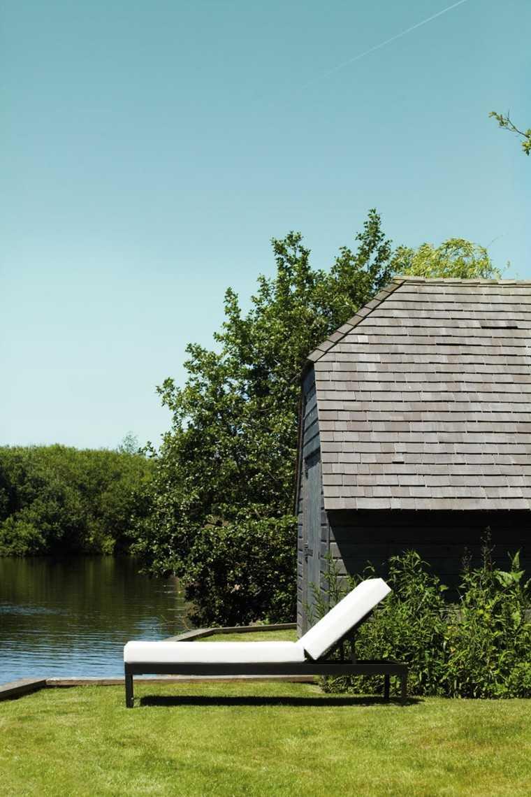 jardin hierba casa lago regulable altura