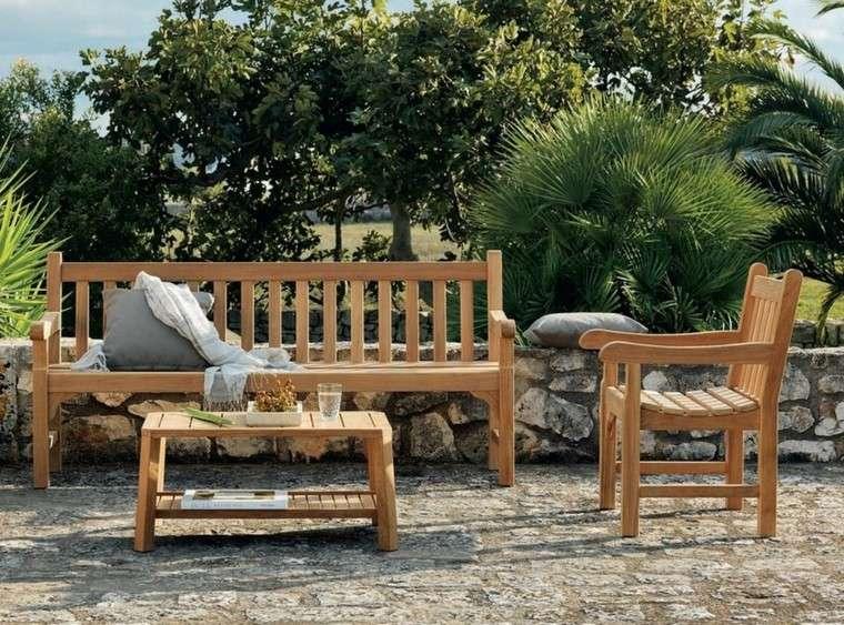 madera de teca para los muebles de jard n