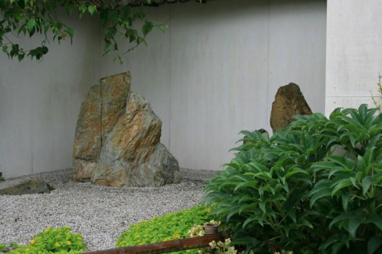 pequeño jardín japonés