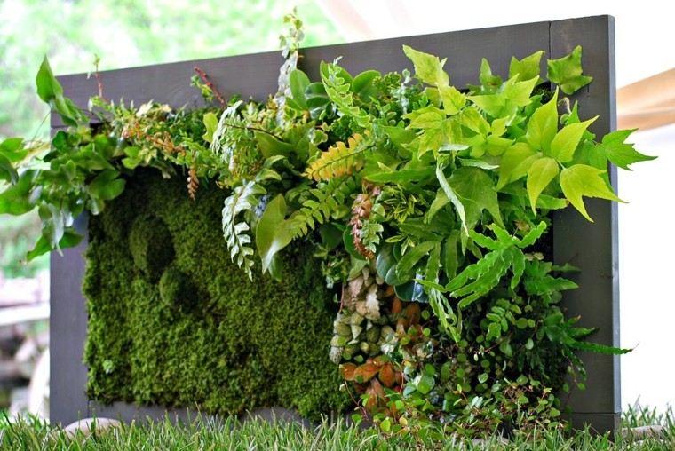 Mundo natural en interiores y exteriores for Plantas recomendadas para jardin vertical