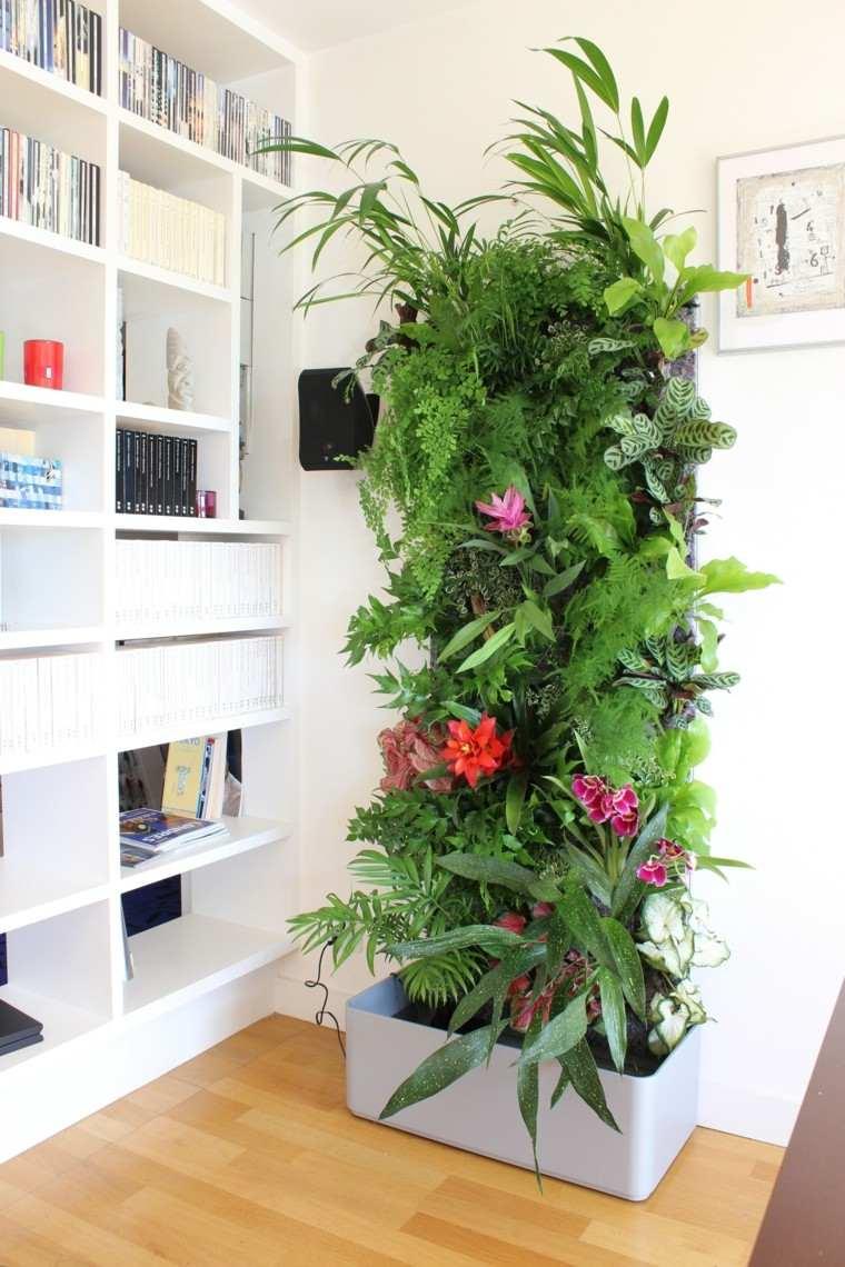 Mundo natural en interiores y exteriores - Jardin vertical en casa ...