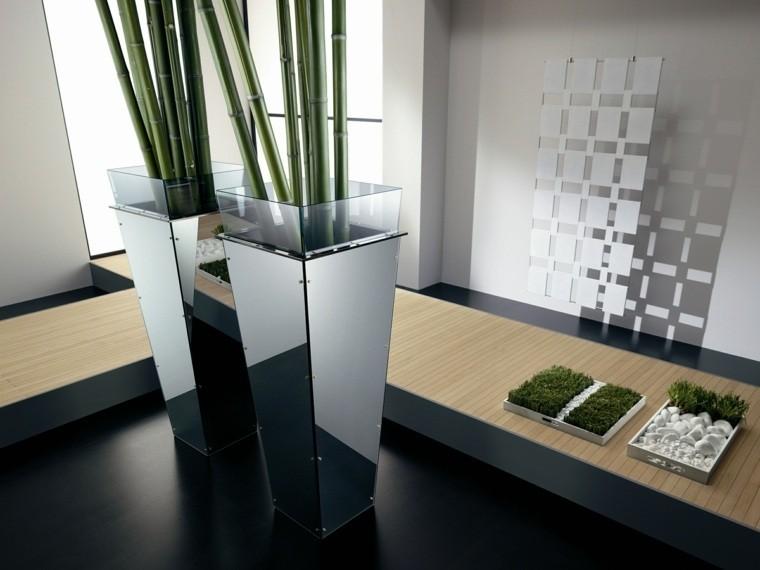 Jardineras inmensamente elegantes y funcionales for Plantas de oficinas modernas
