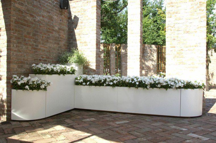 Jardineras inmensamente elegantes y funcionales - Tipos de jardineras ...