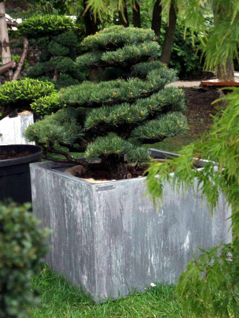 Jardineras inmensamente elegantes y funcionales for Macetas rectangulares grandes