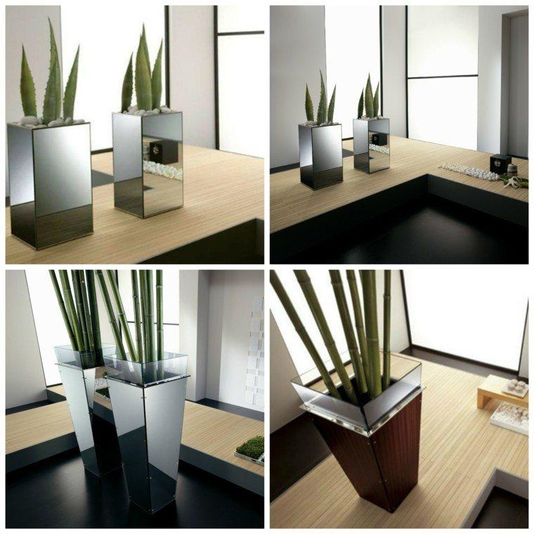 Jardineras inmensamente elegantes y funcionales for Maceteros de madera para interior