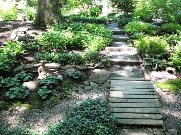 jardines diseño estilo japones zen
