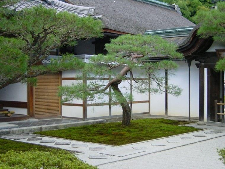 jardines japoneses diseño estilo zen