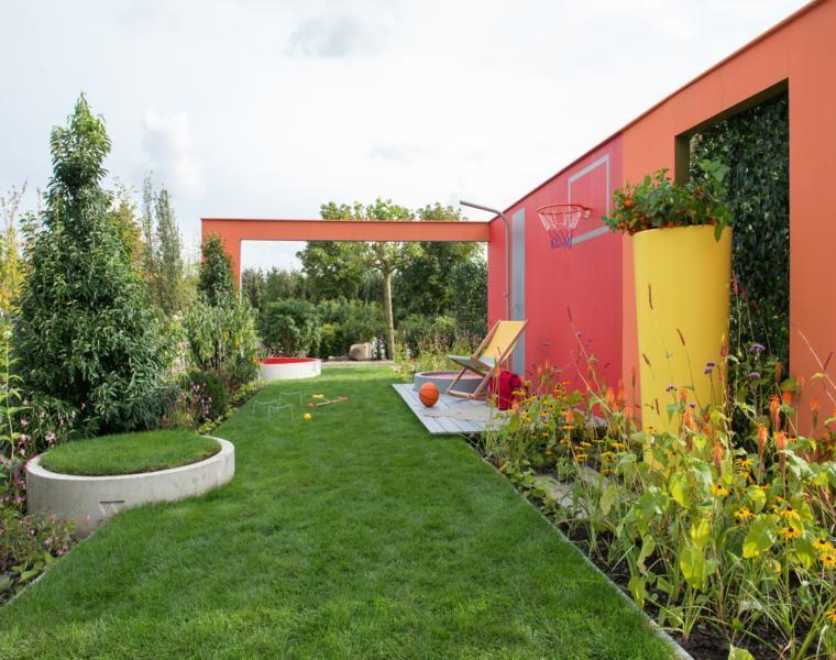 Jardines peque os y patios traseros de dise o nico for Jardines de patios modernos