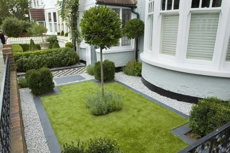 Jardines peque os y patios traseros de dise o nico - Gardening for small spaces minimalist ...