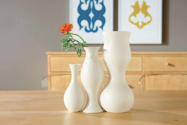 jarrones curvas tres modernos ideas juntos preciosos